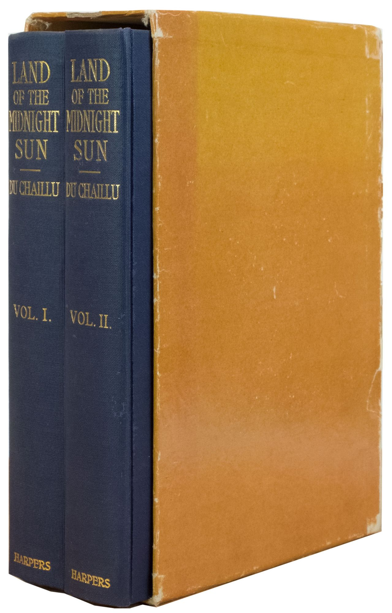 The Land of the Midnight Sun by Paul Du Chaillu on Trophy Room Books