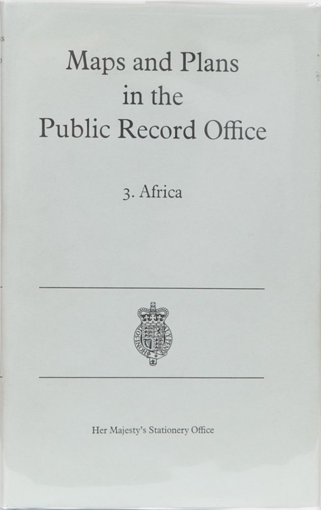 Maps and Plans in the Public Record Office. P. A. Penfold.