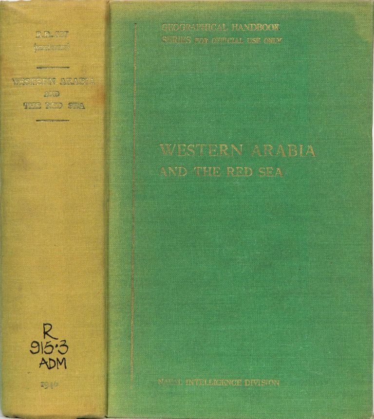 Western Arabia and the Red Sea. Anonymous.