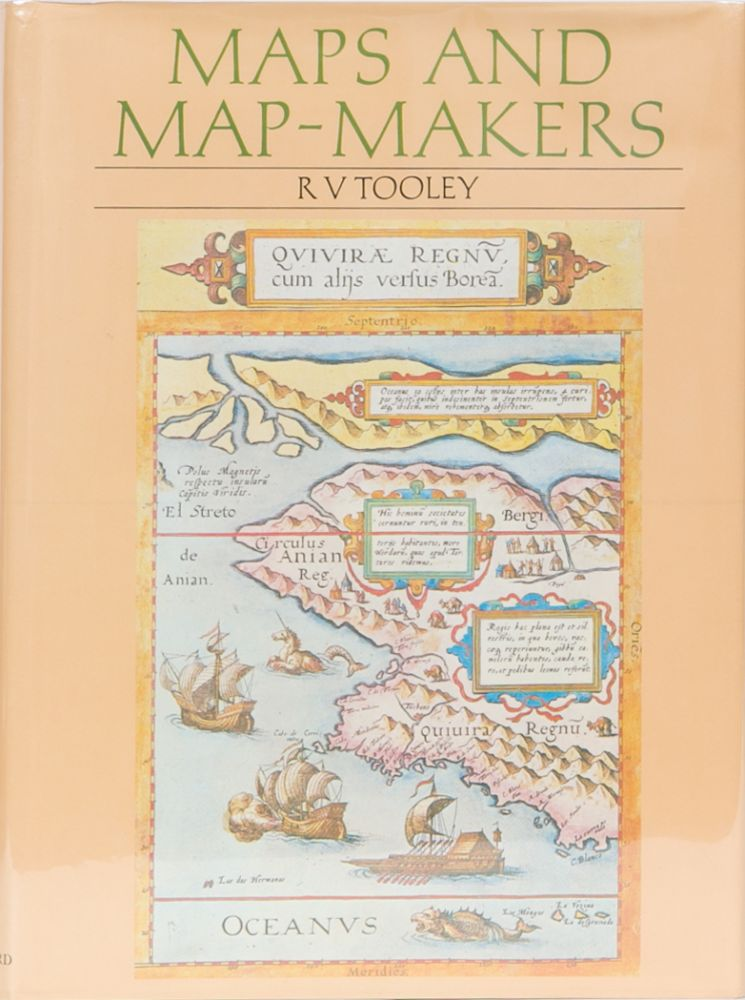 Maps and Map-Makers by R  V  Tooley on Trophy Room Books