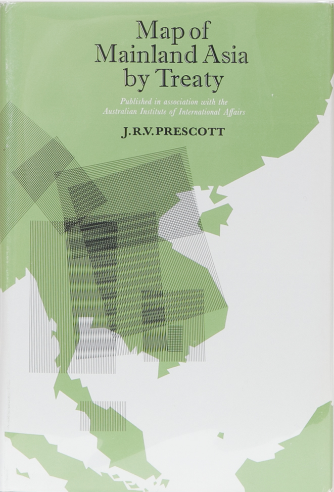 Map of Mainland Asia By Treaty. J. R. V. Prescott.