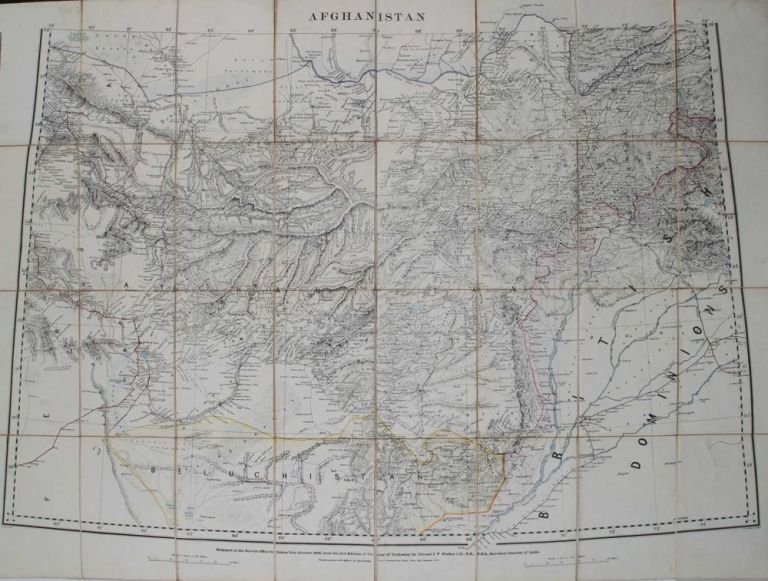 Afghanistan. Trigonometrical Survey.