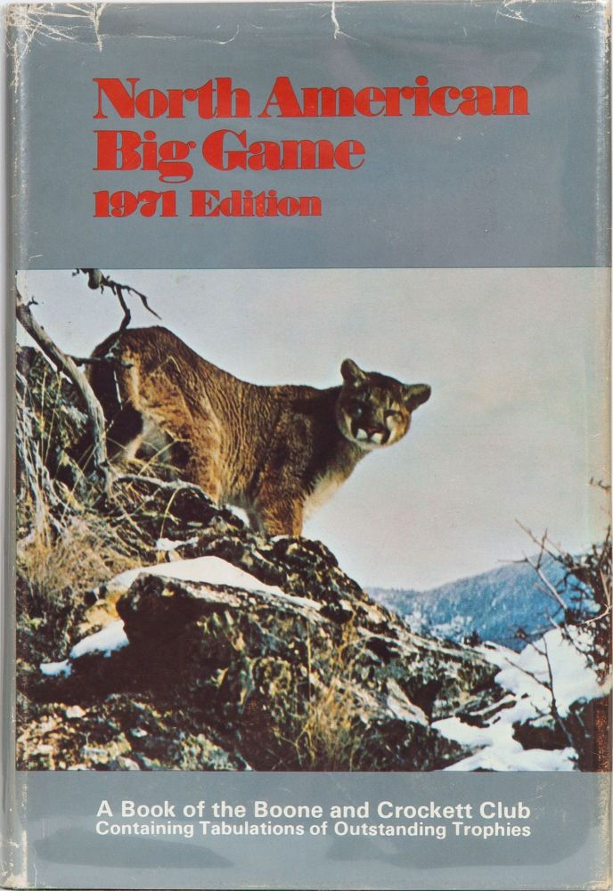 North American Big Game 1971. Boone, Crockett.