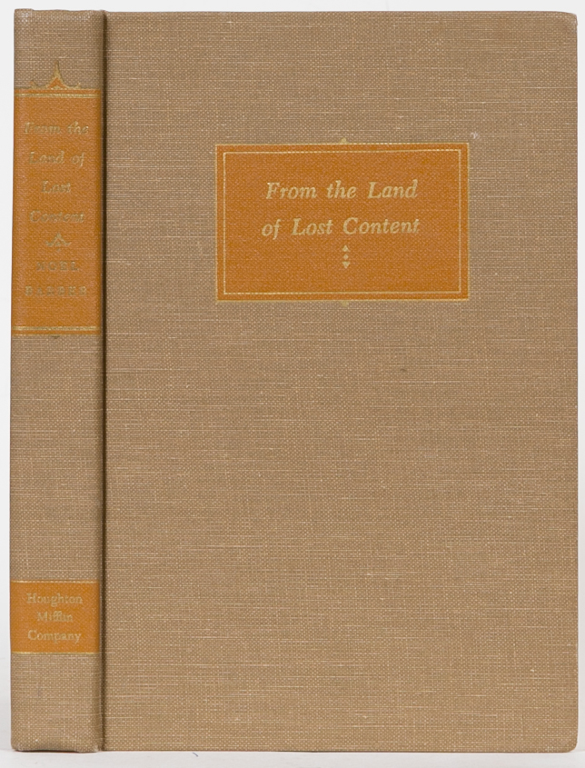 From the Land of Lost Content. N. Barber.