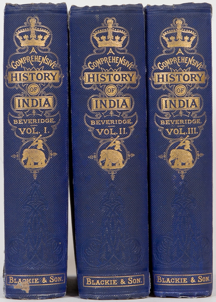A Comprehensive History of India. H. Beveridge.