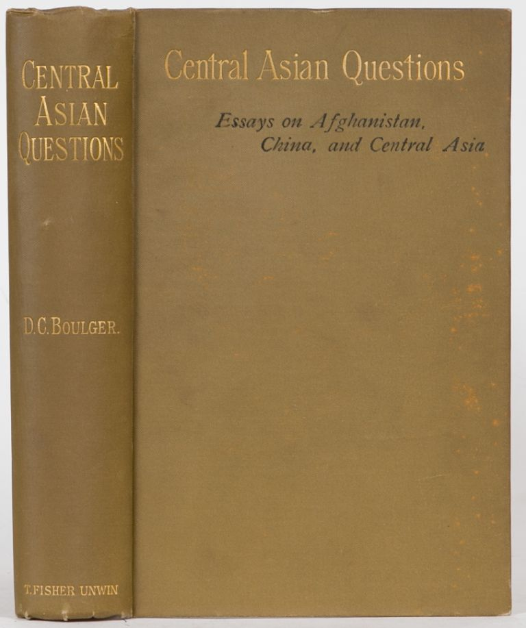 Central Asian Questions. D. Boulger.