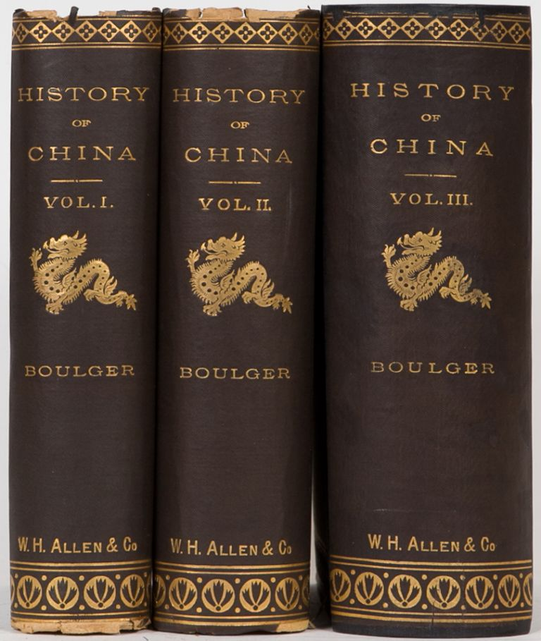 History of China. D. Boulger.