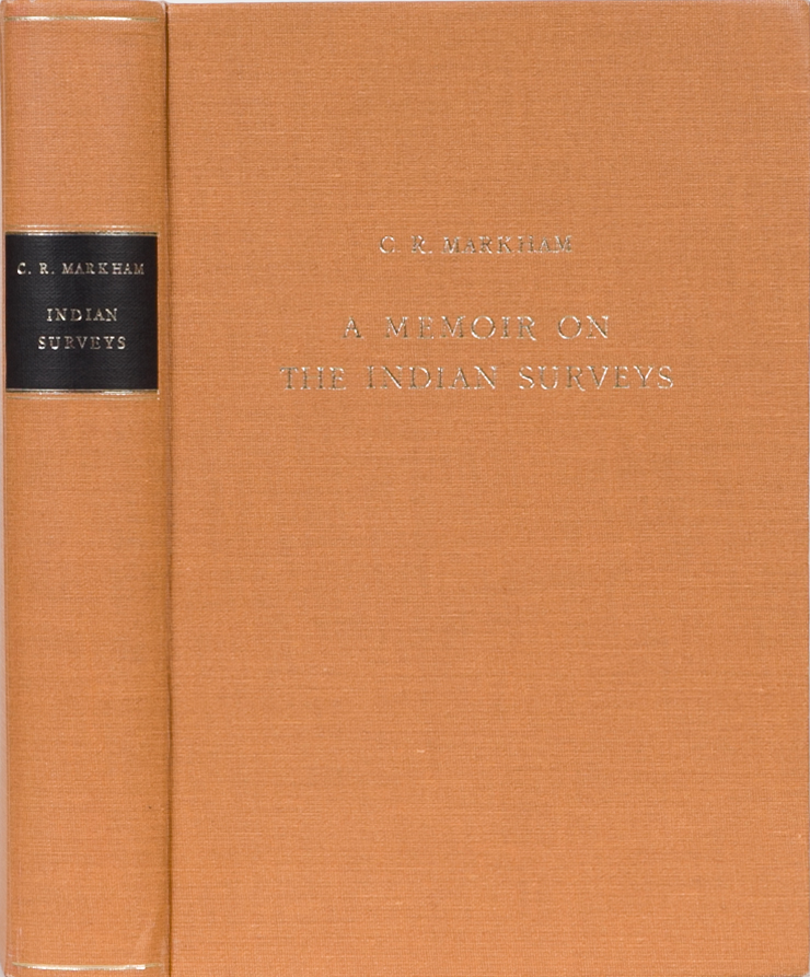 A Memoir on the Indian Surveys. C. R. Markham.