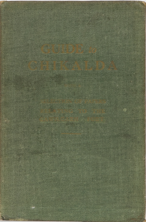Guide to Chikalda. A. Nelson.