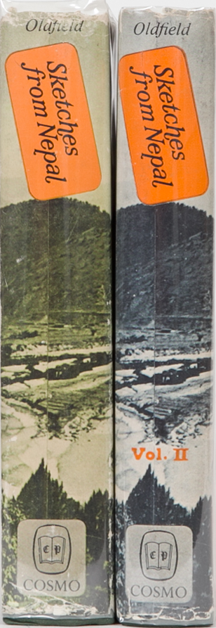 Sketches from Nepal. H. Ambrose Oldfield.