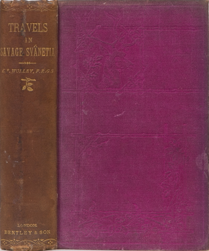 Travels in Savage Svanetia. C. Phillipps-Wolley.