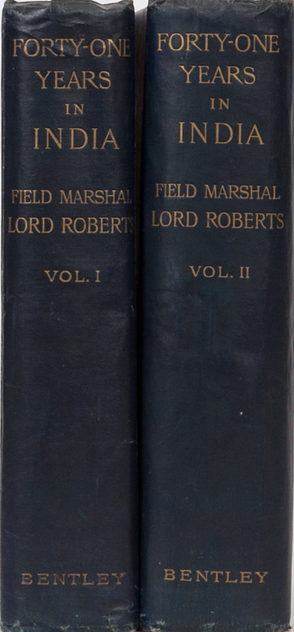 Forty-One Years in India. Field Marshall Lord Roberts.