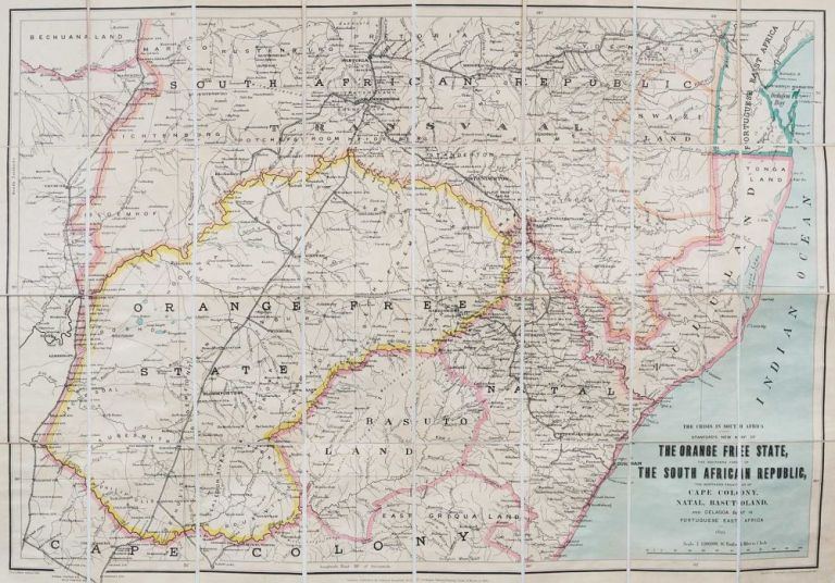 Crises in South Africa Edward Stanford 18991900