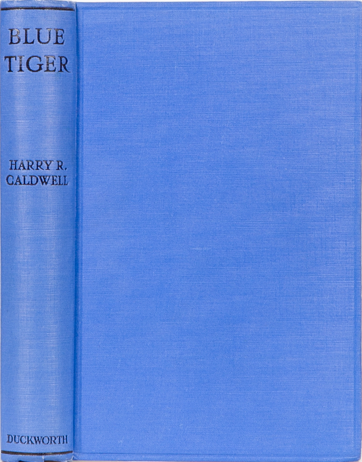 Blue Tiger. Harry Caldwell.