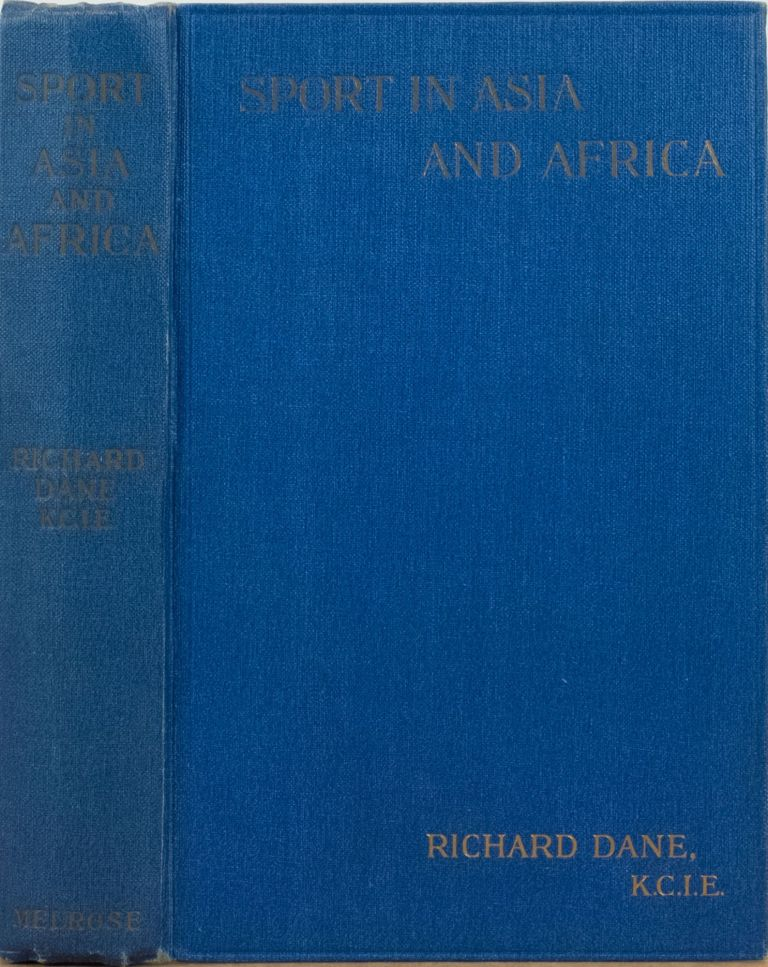 Sport in Asia and Africa. R. Dane.