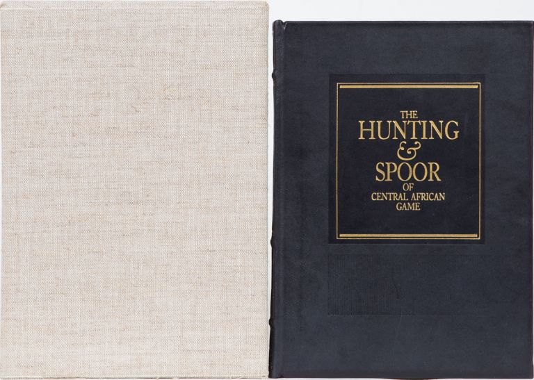 The Hunting and Spoor of Central African Game. Denis Lyell.