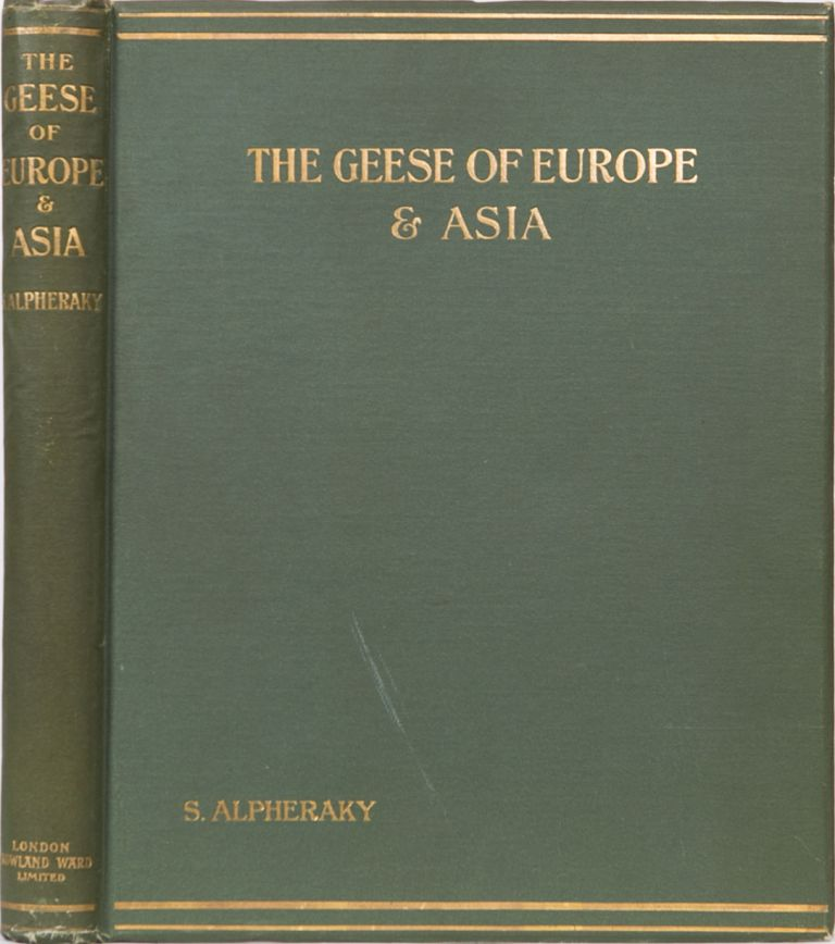 The Geese of Europe and Asia. S. Alpheraky.