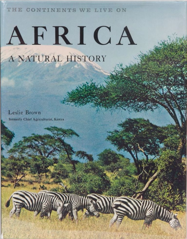 Africa A Natural History. Leslie Brown.