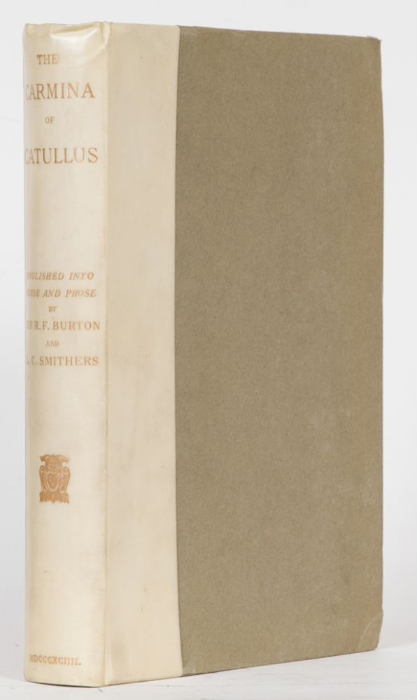 The Carmina of Caius Valerius Catullus. Richard Burton.