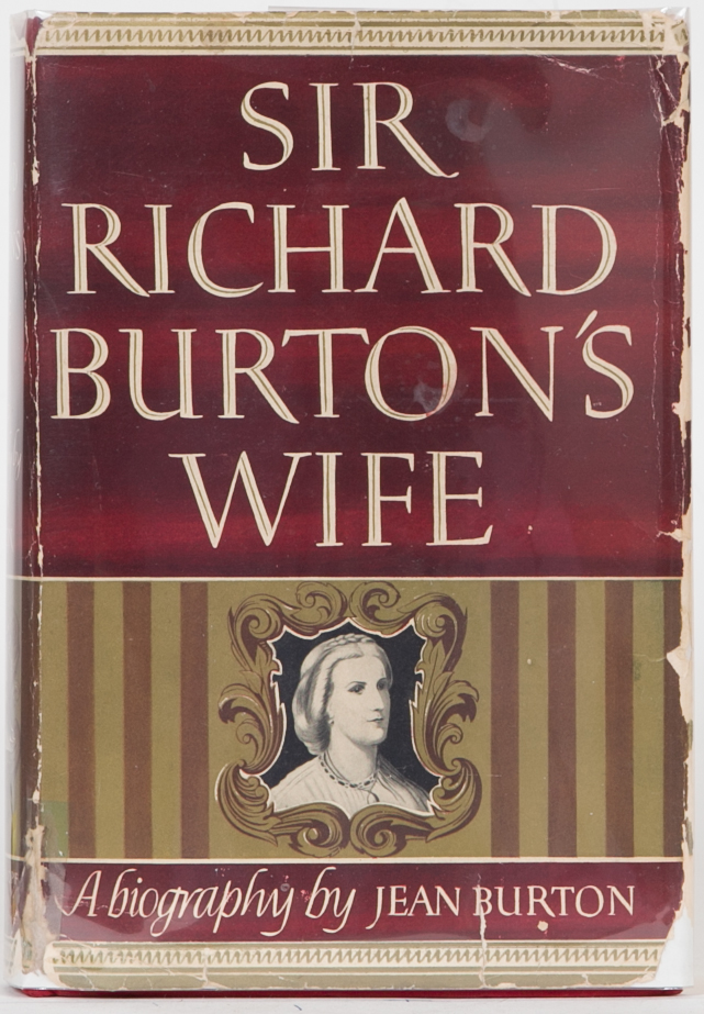 Sir Richard Burton's Wife. Jane Burton.