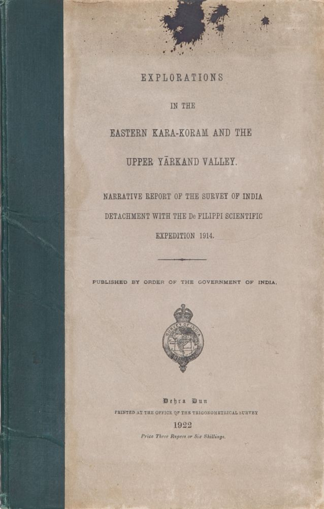Explorations in the Easrern Kara-Koram and the Upper Yarkand Valley. H. Wood.