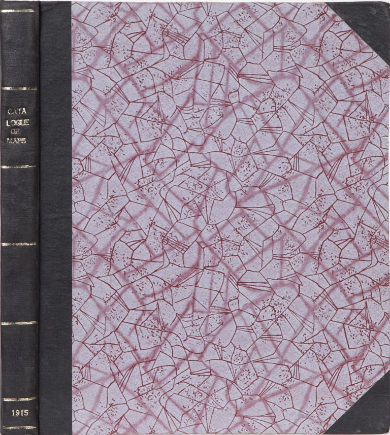 Catalogue of Maps Published by the Survey of India. Col Sir S. G. Burrard.