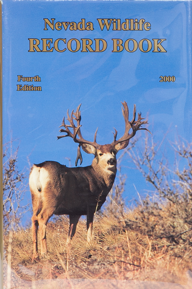 Nevada Wildlife Record Book Fourth edition 2000. Nevada Department of Wildlife.