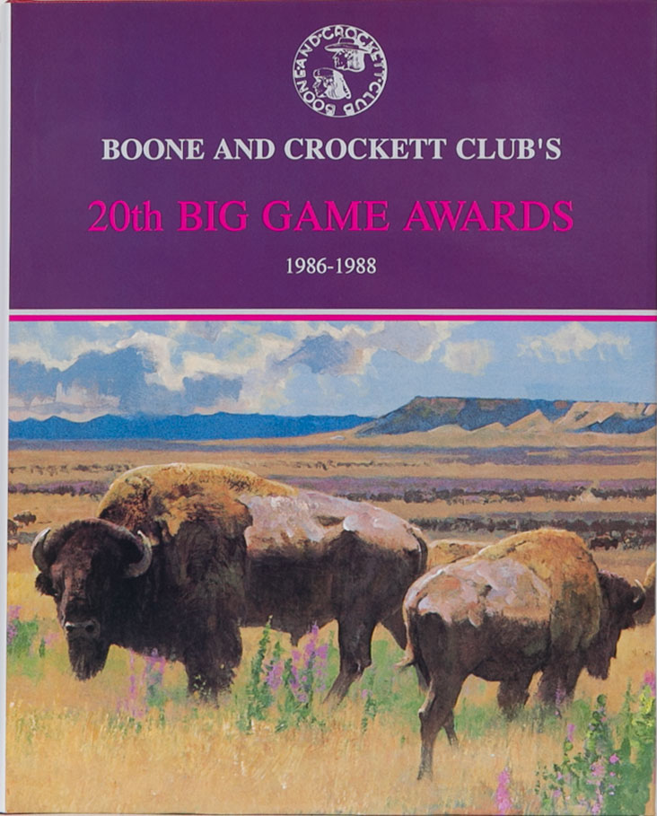 Boone & Crockett Club's 20th Big Game Awards. Boone, Nesbitt Crockett Club, J., Reneau, W.