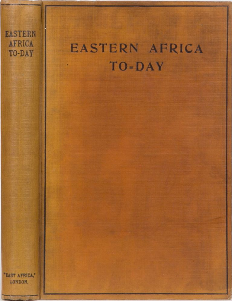 Eastern Africa Today. F. S. Joelson.