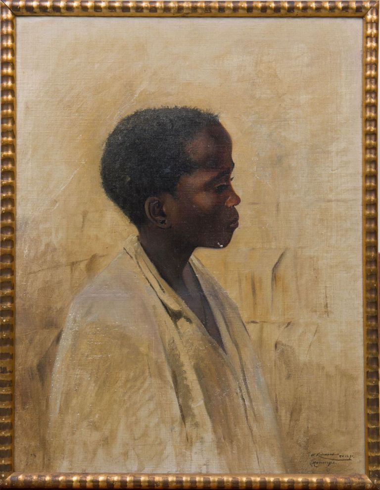 Young African Boy. Wilhelm Kuhnert.