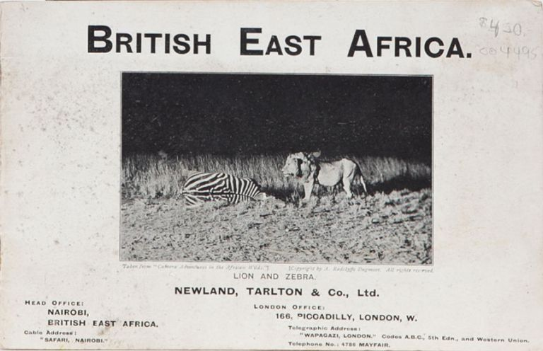 British East Africa. Tarlton Newland.