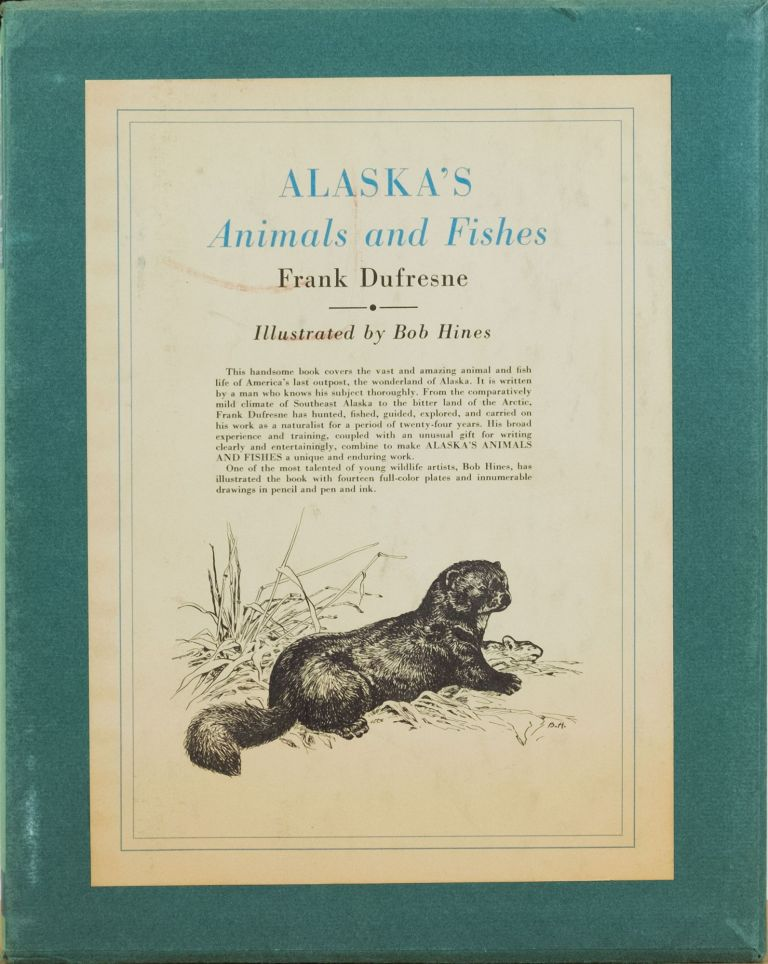 Alaska's Animals and Fishes. Frank DuFresne.