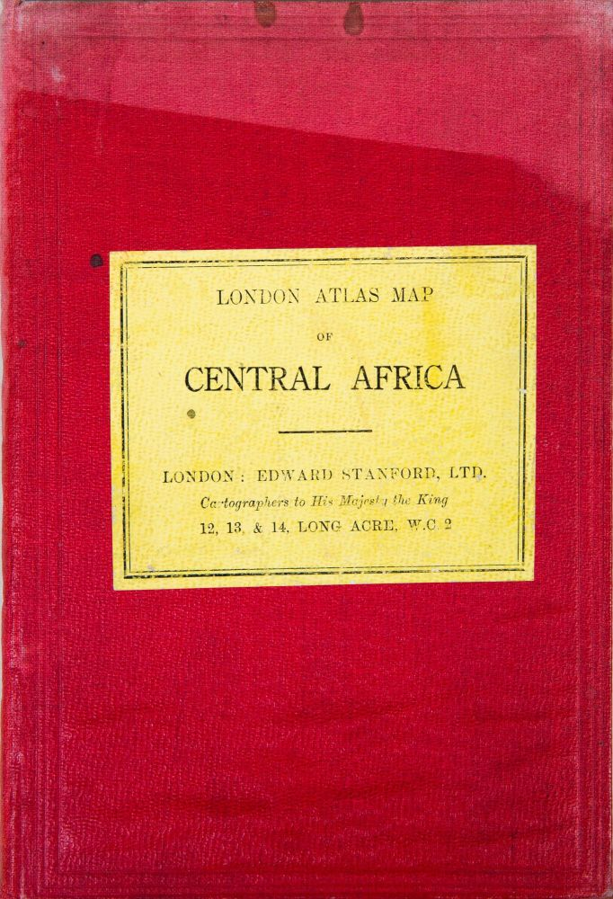 Central Africa. Edward Stanford.
