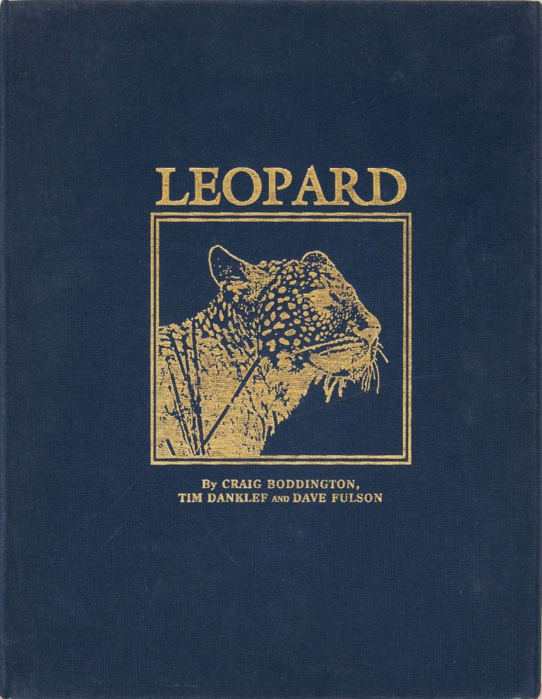 LEOPARD. Craig Boddington, Dave, And Fulson, Tim, Danklef.