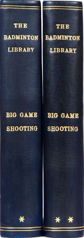 Big Game Shooting. Badminton Library.