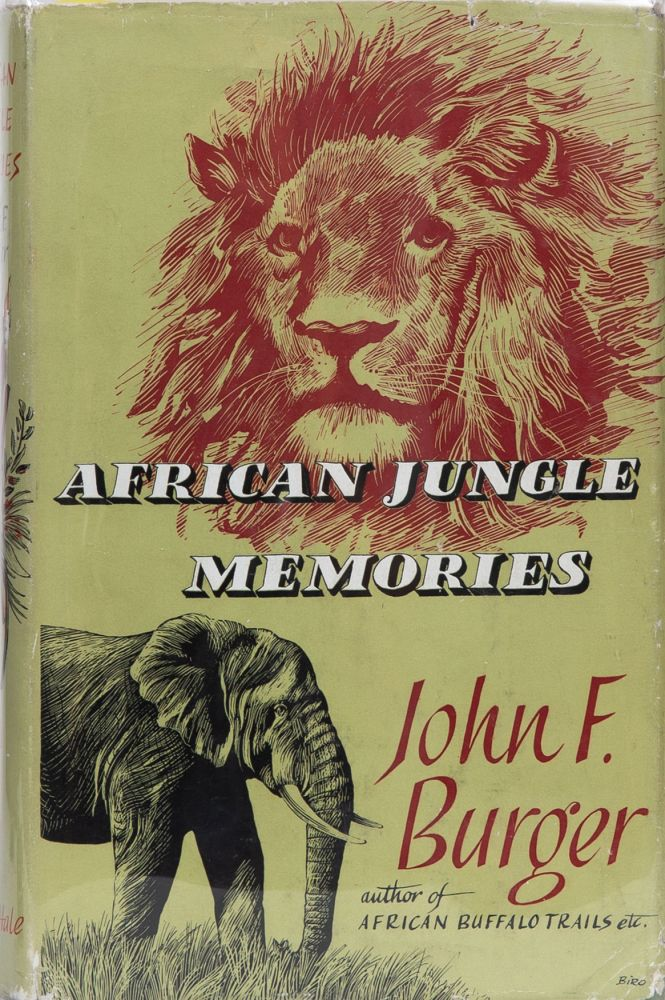 African Jungle Memories. John Burger.