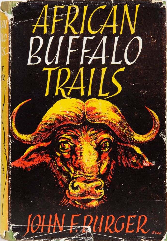 African Buffalo Trails. John F. Burger.