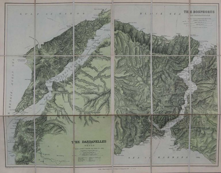 The Bosphorus and Constantinopes and the Dardanelles and the Trood. E. Stanford.