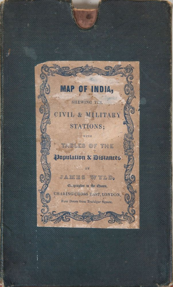 Map of India. James Wyld.