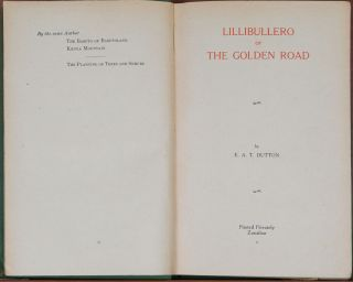 Lillibulero or The Golden Road