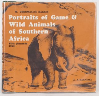 Portraits of the Game & Wild Animals of Southern Africa. William Cornwallis Harris.