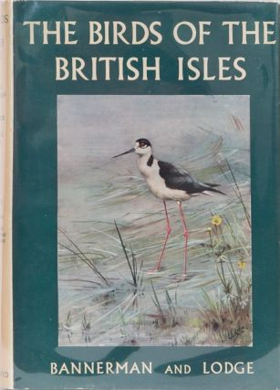 The Birds of the British Isles Vol X. David A. Bannerman