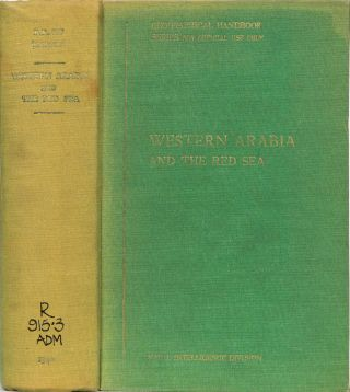 Western Arabia and the Red Sea. Anonymous