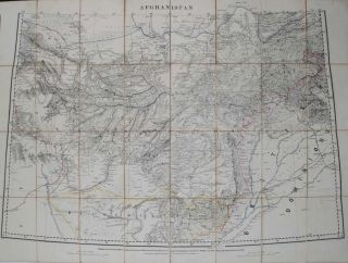Afghanistan. Trigonometrical Survey