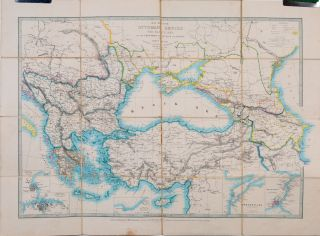 Maps of the Ottoman Empire, the Black Sea and Frontiers of Russia and Persia
