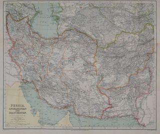 Persia, Afghanistan and Beluchistan. George Phillip.
