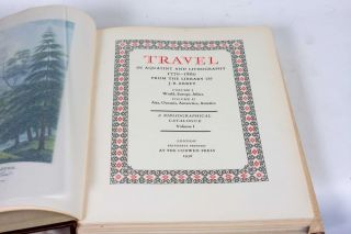 Travel in Aquatint and Lithography 1770-1860