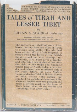 Tales of Tirah and Lesser Tibet. Lilian A. Starr.