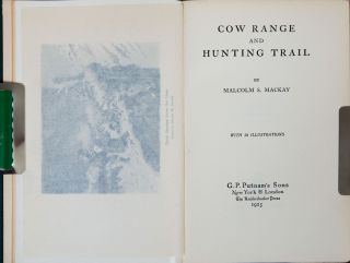 Cow Range and Hunting Trail