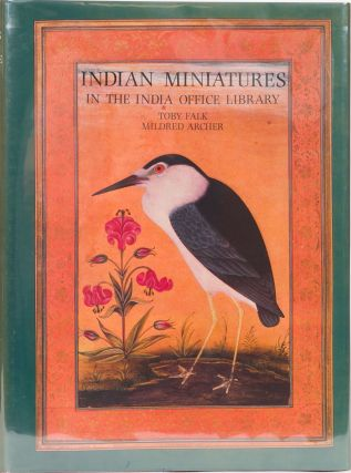 Indian Miniatures in the India Office Library. T. Falk, M. Archer.